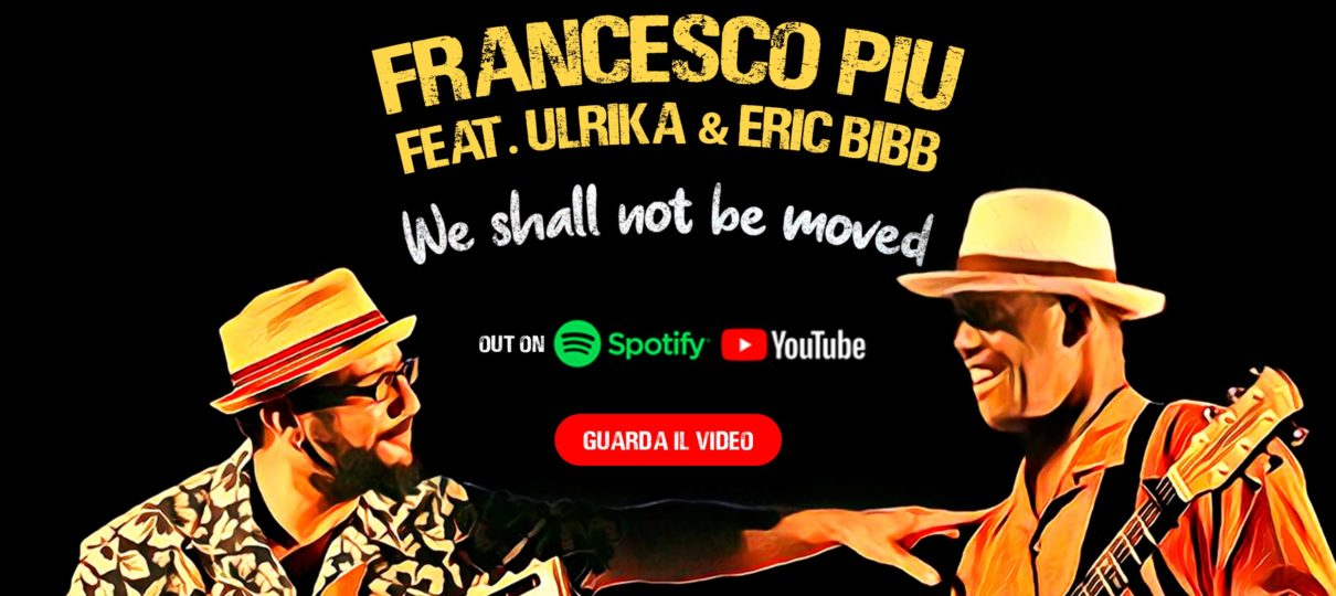 WE SHALL NOT BE MOVED GUARDA IL NUOVO VIDEOCLIP
